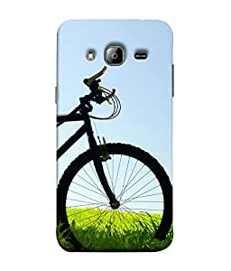 FUSON Designer Back Case Cover for Samsung Galaxy On5 Pro (2015) :: Samsung Galaxy On 5 Pro (2015) (Fashion boys Cycle With Anime Background wall)