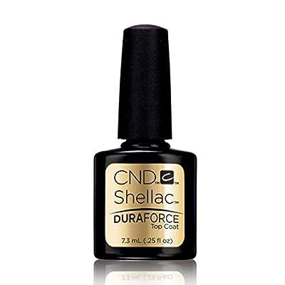 CND Shellac UV Nail Polish - DURAFORCE TOP COAT - 7.3ml