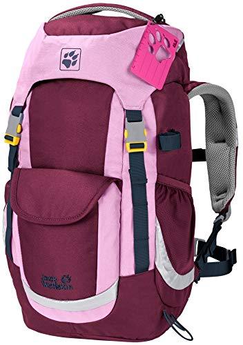 Jack Wolfskin Kinderrucksack für Tagestouren, Wanderrucksack für Kinder ab 6 Jahren mit bequemer Passform, 20 L Rucksack für Kinder mit Sitzmatte