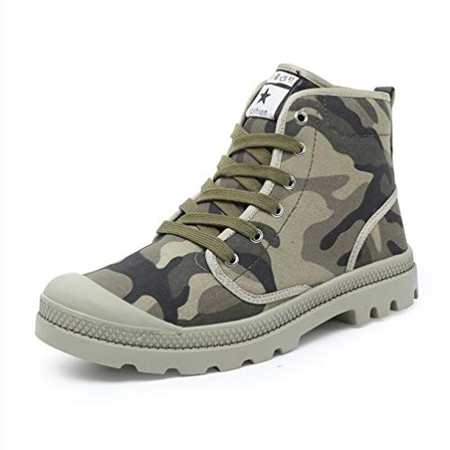 Männer Casual Shoes Knöchel Leinwand lace-up Schuhe Outdoor High Top Sneakers (2014 Max Mann Air)