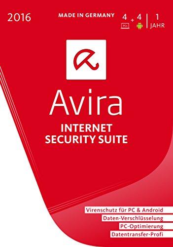 Avira Internet Security Suite 2016 – 4 Geräte / 1 Jahr