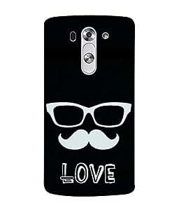 Snapdilla Designer Back Case Cover for LG G3 S :: LG G3 S Duos :: LG G3 Beat Dual :: LG D722K :: LG G3 Vigor :: LG D722 D725 D728 D724 (Comic Character Fashion White Background Wallpaper)