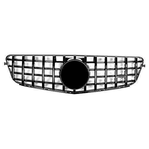Preisvergleich Produktbild Auto Auto KühlergrillCar KühlergrillABS Kühlergrill Modifikation Kühlergrill Modifikation Mit Kamera Loch Fit Für C-Klasse W205 2015-2018