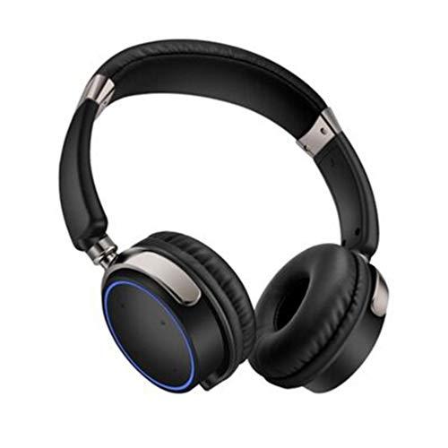 QMMCK Kabelloses Bluetooth-Headset Sportlicher Binauraler Kopfhörer Tragbares Headset Zum Aufladen Im Freien Mit Ladeschacht (002)