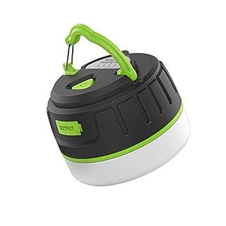 Waterproof Camping Lantern for Outdoor Lighting & 5200 mAh Power Bank - Vert