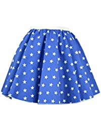 """Adult Star Circle Skirt 17 """" length Many colours"""