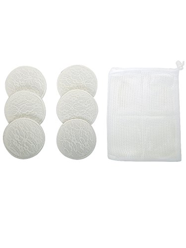 Mee Mee Washable Cotton Maternity Breast Pads (6 pcs)