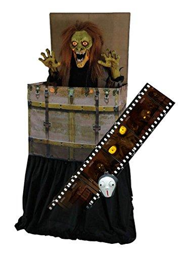 SVI Bogey Man Horror Dämon steigt aus Kiste Halloween Animatronic