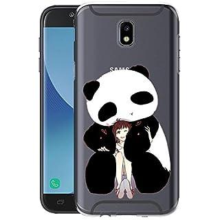 Fantasyqi Hülle Kompatibel für Samsung Galaxy J7 2017 Ultra Dünn Transparent Weiche Silikon TPU Handyhülle Anti-Kratz Schutzhülle Stylisch und Langlebig Stoßfest Geeignet für Samsung Galaxy J7 2017(P)