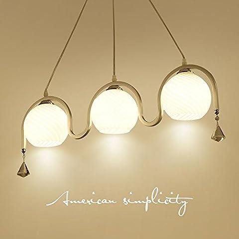 AllureFeng Lustre à lèvres modernes et modernes, lustre créatif, style verre, chandelier, éclairage, éclairage domestique [niveau d'efficacité énergétique A ++]
