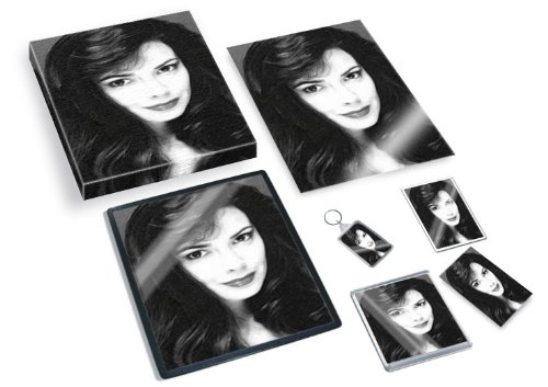 NICOLA BRYANT - Original Art Gift Set #js001 (Includes - A4 Canvas - A4 Print - Coaster - Fridge Magnet - Keyring - Mouse Mat - Sketch Card) (Set Bryant)