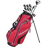 Prosimmon V7 Golf Package Set + Bag Mens Right Hand Red