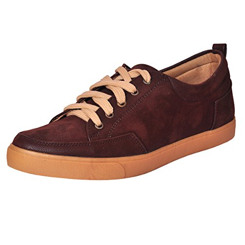 Domestiq Premium & Comfortable Light Weight Casual Shoes/Sneakers For Boy's & Men's - 0338 (Brown)