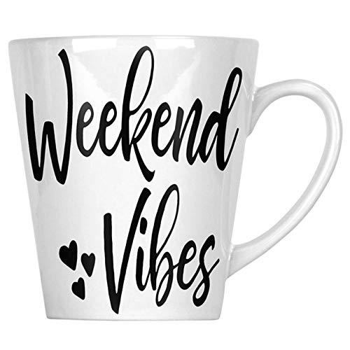 Weekend Vibes 34 cl Latte Tasse gg485L - 34 Vibe