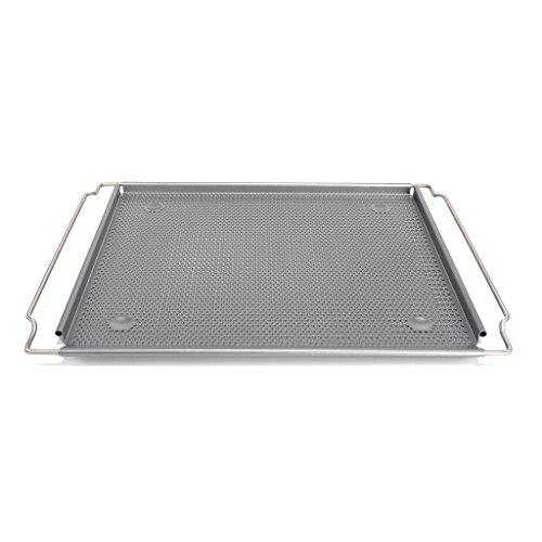 Patisse 03641 Silver-Top Backblech gelocht, ausziehbar & verstellbar, Edelstahl, Silber