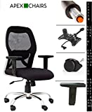 #6: Apex Chairs Apollo Medium Back Chair with Adjustable arms and Anytime Lock Mechanism