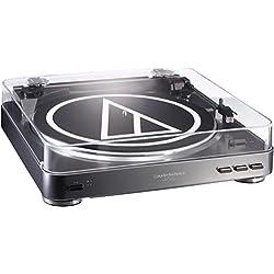 Audio-Technica AT-LP60 - Adaptador de platino USB Turntable, color plateado