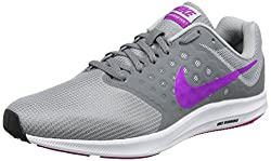 Nike Wmns Downshifter 7, Women's Running Shoes, Grey (Cool Greyhyper Violetwolf Greyblackwhite),7 Uk(41 Eu)