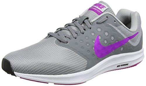 Nike Black White Grey da Grey Corsa Downshifter Wolf 7 Scarpe Cool Violet Donna Grigio Wmns Hyper BwUr6B