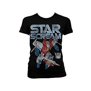 Transformers - T-shirt - Manches Courtes - Femme -  noir - X-Large