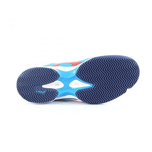 Asics Gel Padel Professional 2 SG, Zapatillas para Hombre, Azul (Methyl Hot Orange/Indigo Blue), 44 1/2 EU