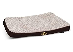 Scruffs Brown Wilton Non Slip Soft Fur Pet Dog Mattress Bed Large