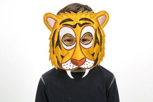 Tiger Maske Kinder - Tiger Kostüm Kinder - Kinder Kostüm Tiger - Slimy Toad
