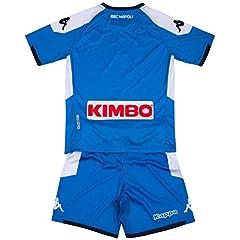 Idea Regalo - SSC Napoli Kit Gara Home Bambino 2019/2020, Blu, 10 anni