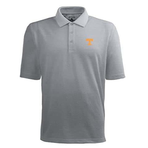 NCAA Tennessee Volontaires Pique Xtra Lite Desert Dry Polo pour homme, Homme, gris, moyen