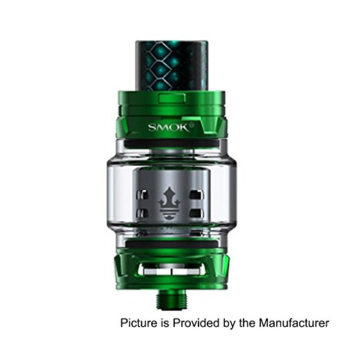 Smok TFV12 PRINCE Atomizer 8ml Capacity Top Filling E-Zigarette TFV12 Prince Coils (Grün)