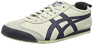 Onistuka Tiger Mexico 66, Scarpe da Ginnastica Unisex Adulto, Bianco (Birch/India Ink/Latte 1659), 42 EU (B00M9825SG) | Amazon price tracker / tracking, Amazon price history charts, Amazon price watches, Amazon price drop alerts