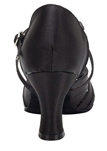 TDA , Peep-Toe femme 7cm Heel Black