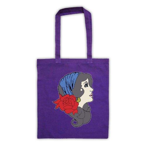 My Icon Art & Clothing , Borsa da spiaggia  Uomo-Donna Viola