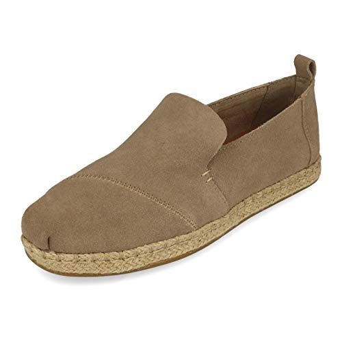 TOMS Deconstructed Alpargata Rope Desert Taupe Suede 40
