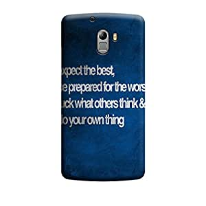 Skintice Designer Back Cover with direct 3D sublimation printing for Lenovo Vibe K4 Note