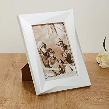 Home Centre Adlin Single Photo Frame - White