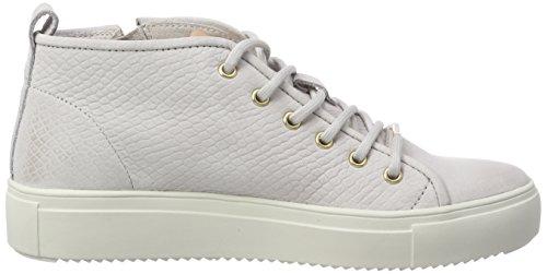 Blackstone Damen Pl91 Hohe Sneaker Grau (Mychro Chip)