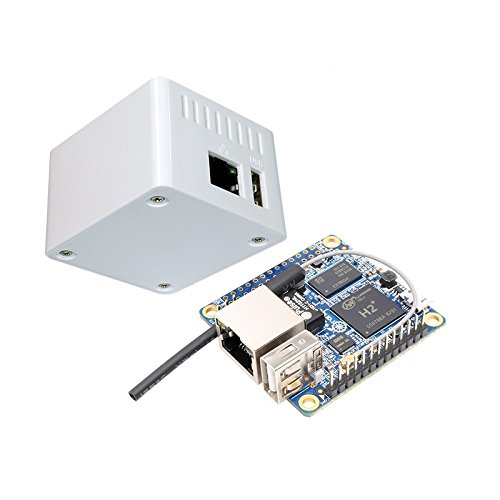 2-In-1 Orange Pi Null H2 Quad Core Ladicha Open Source 512 Mb Entwicklungsboard + Schutzhülle Kit (512 Mb Motherboard)