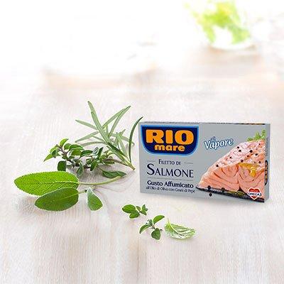 Salmone rio mare gr125 affumicato