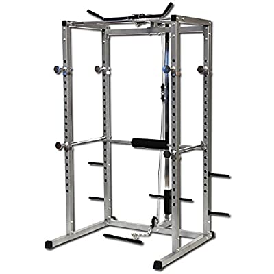 GYMANO | ULTIMATE POWER RACK (+ Free Accessory Pack worth £59.99) SQUAT CAGE w/LAT PULL DOWN/SEATED ROW/ARM CURL from GYMANO