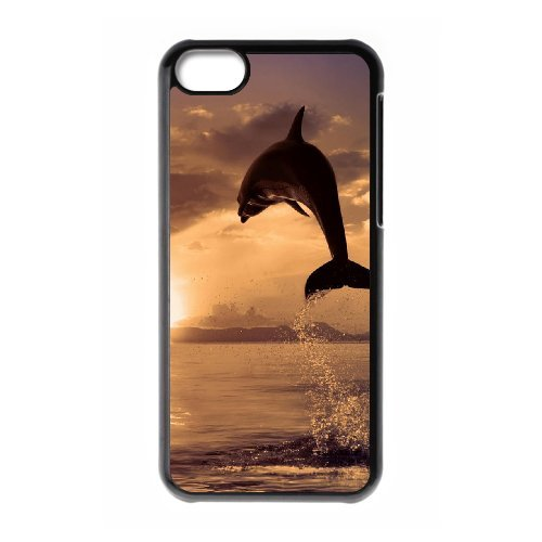 LP-LG Phone Case Of Dolphin For Iphone 5C [Pattern-6] Pattern-3