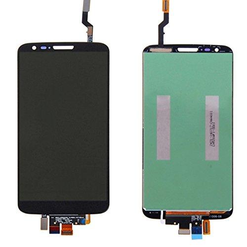 Jasmin FS IPartsBuy LCD Display + Touchscreen Digitizer für LG Optimus G2 / LS980 / VS980 Displayschutz (Farbe : Schwarz) (Lg G2 Display Lcd Austausch)