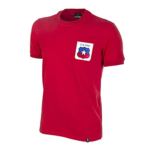 COPA Football - Camiseta Retro Chile Mundial 1974