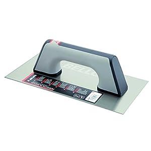 Bellota 5861-1 BIM INOX – Llana recta de acero inoxidable (300x150mm) con mango bimaterial