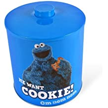 Cookie Monster Sesame Street galletas lata