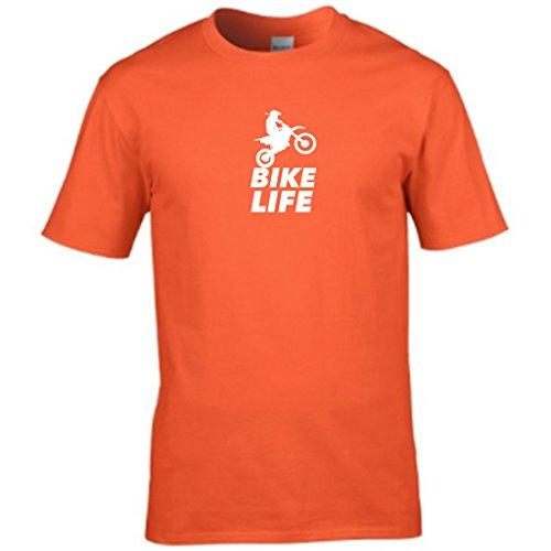 S Tees Herren T-Shirt Orange