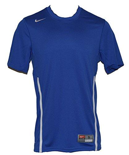 Nike Mens Team Rally Crew 2.0 - Royal Blue/Grey