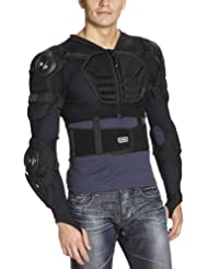 iXS Sports Division Assault - Chaleco protector de ciclismo para hombre, tamaño ml, color marrón