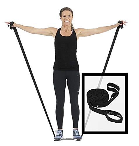 Swedish Posture Schlingentrainer Resistance Band Workout Band für Functional Training überall | für Yoga, Pilates und Rehasport | Workout für Zuhause | Gymnastikband | inkl. Erklärvideo