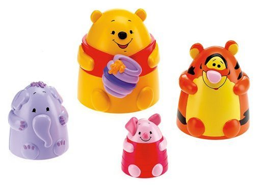 Fisher-Price - Premier âge - Winnie l'Ourson et ses amis empilo